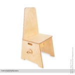 Product Photography of a Custom Built Meditation Chair for Amazon